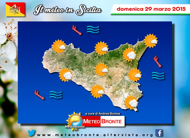 Cartina Meteo Sicilia.Meteo Bronte Di Andrea Boninameteo Sicilia 29 Marzo Meteo Bronte Di Andrea Bonina