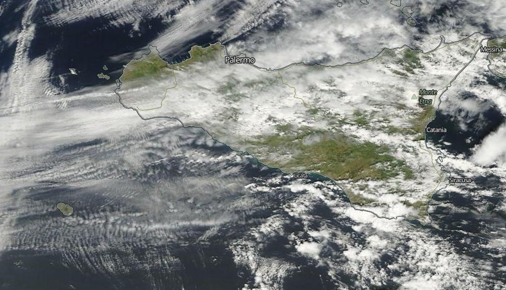 Sicilia satellite