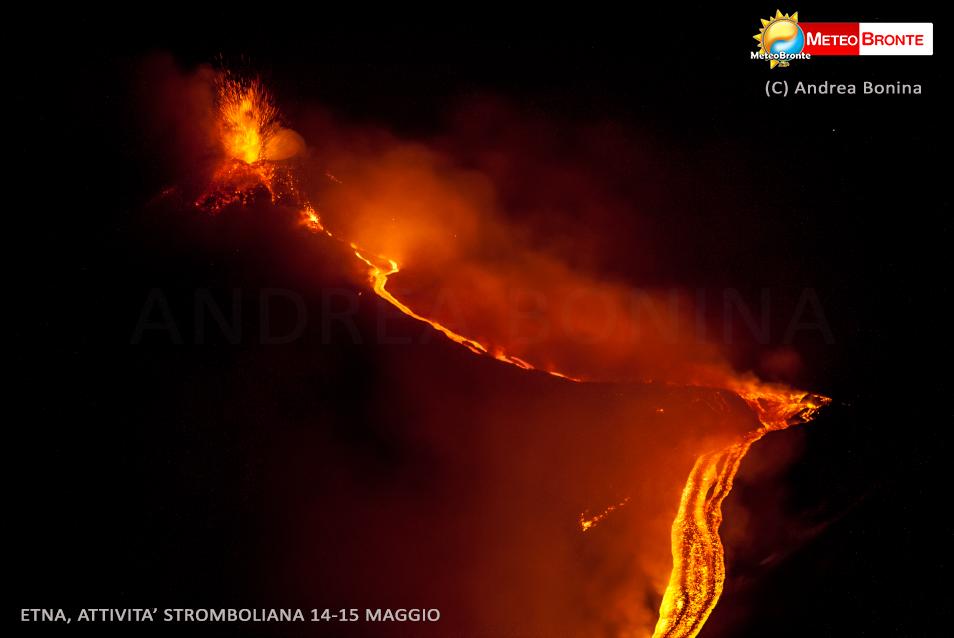 Etna, Andrea Bonina