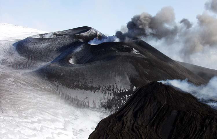 Etna, crateri sommitali