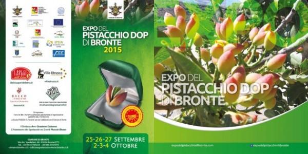 Expo del pistacchio di Bronte 2015, manifesto