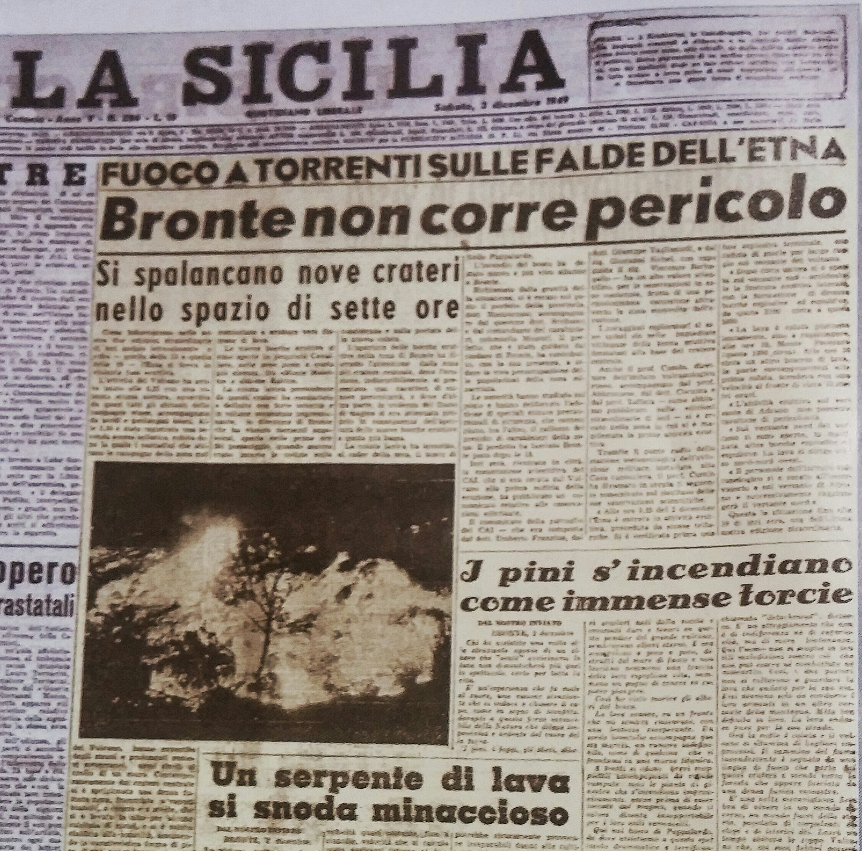La Sicilia, 3/12/1949