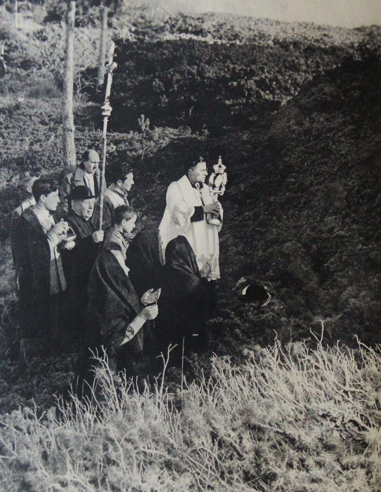 Bronte eruzione 1949 Don Longhitano
