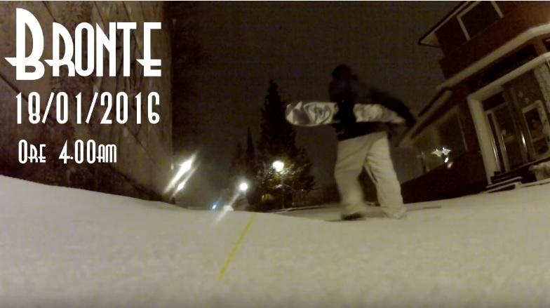 Bronte snowboard neve