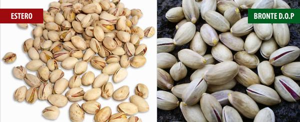 Riconoscere il pistacchio col guscio a partire dalla forma.