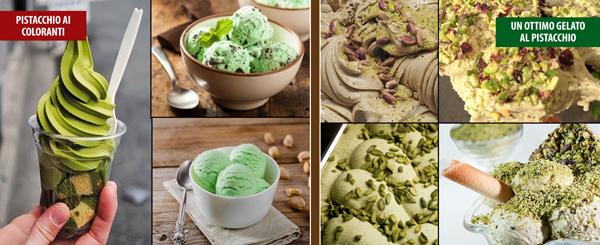 Riconoscere un buon gelato al pistacchio.